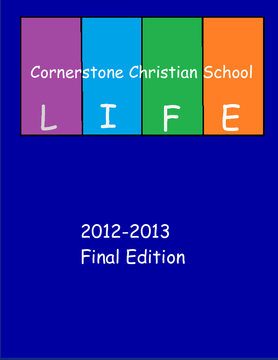 CCS Yearbook 2012/2013