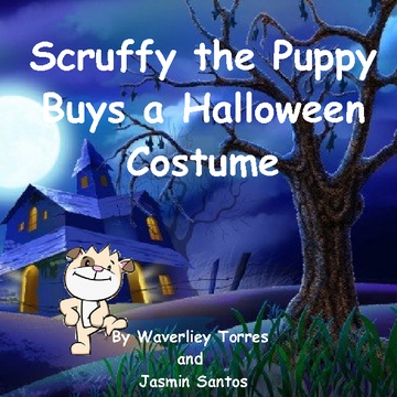 Scruffy the Puppy Buys a Halloween Costume
