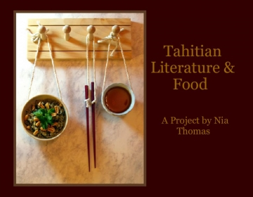 Tahitian Literature & Food