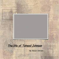 The life and times of Taheed Johnson