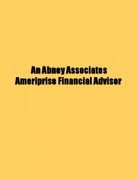 An Abney Associates Ameriprise Financial Advisor about Qualified and nonqualified annuities