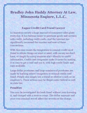 Bradley John Haddy Attorney At Law, Minnesota Esqiure, L.L.C.