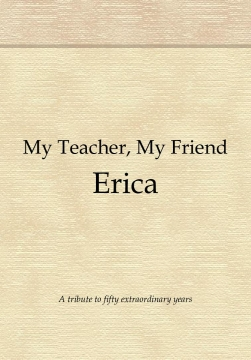 My Teacher, My Friend Erica