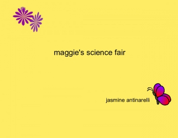 maggies science fair