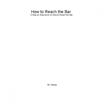 How to Reach the Bar