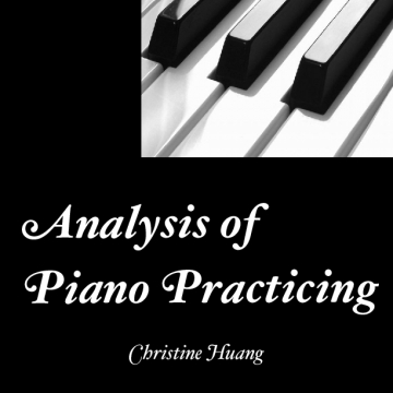 Analysis of Piano Practicing