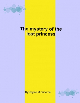 The mystery of the lost princess
