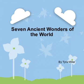 Seven ancient wonders of the world
