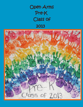 Open Arms Pre-K Class of 2013