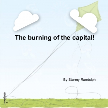 The burning of the capital!