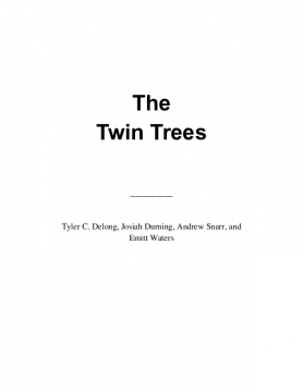 The Twin Trees