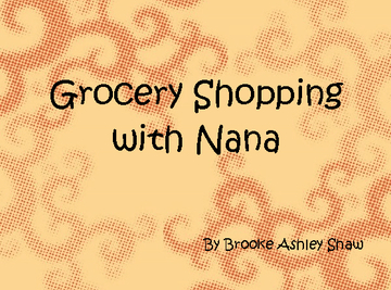 Grocery Shopping with Nana