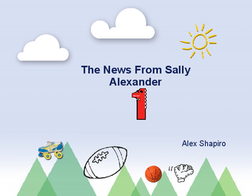 The News From Sally Alexander
