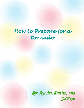 How to prepare for a tornado