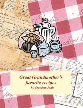 Great Grandmother's recipes