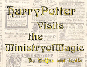 Harry Potter visits the Ministry of Magic