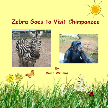 Zebra Goes to Visit Chimpanzee