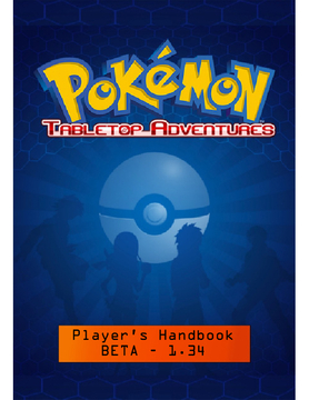 Pokemon Tabletop Adventures: Player's Handbook