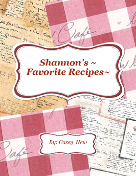 Shannon's Recipes