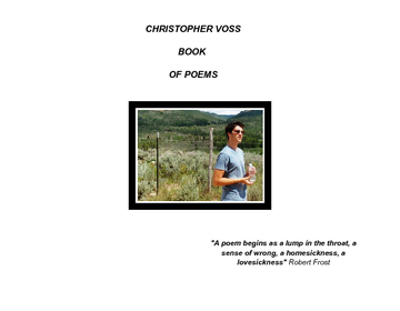 Chris Voss Book of Poetry