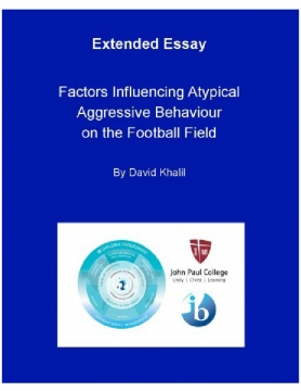 """What are the possible factors influencing atypical aggressive behaviour on the football field?"""