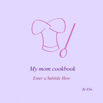 My mum and dads cookbook