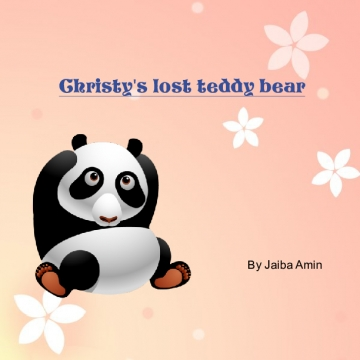 Christy's lost teddy bear!