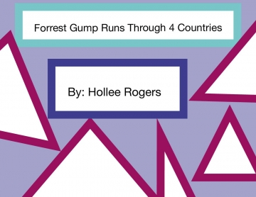 Forest Gump Runs Through 4 Countries