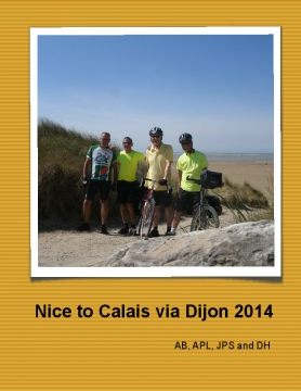 Nice to Calais via Dijon 2014