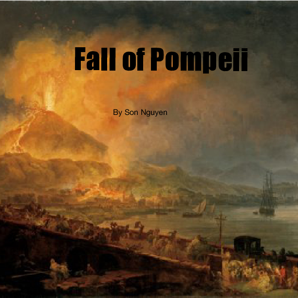 the fall of pompeii essay Pompeii how was pompeii buried part 1 scientist has examined the layers of debris that fell on pompeii to help them understand exactly what happened when vesuvius erupted   uncovering pompeii part 1 for 1,500 years, pompeii had been buried under a thick blanket of pumice and ash.