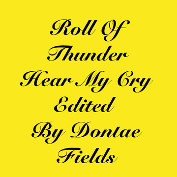 Roll of thunder hear my cry aniline
