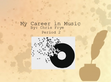 My Career in Music