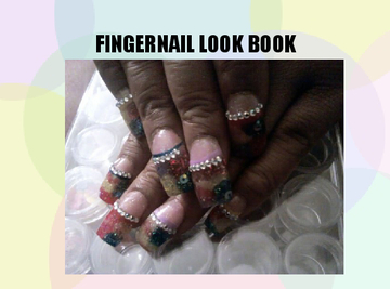 FINGERNAIL LOOK BOOK