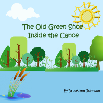 The Old Green Shoe Inside the Canoe