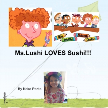 Miss Lushi loves sushi!