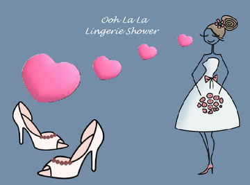 Oh La La Lingerie Shower
