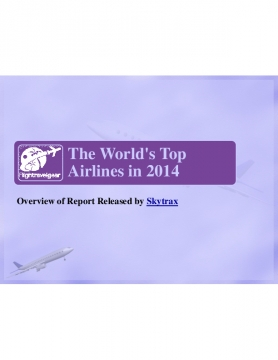 Airlines of the Year 2014