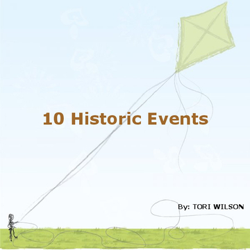 10 Historic Events