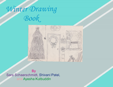 Winter Drawing Book