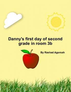 Danny's 1st day of second grade in room3b