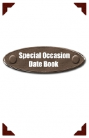 Special Occasion Date Book