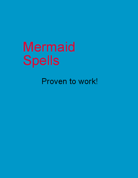Mermaid Spells