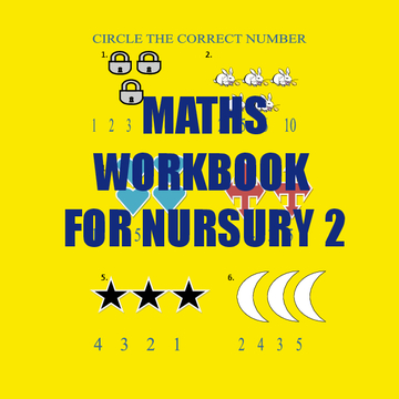 MATHS WORK BOOK FOR NURSURY II