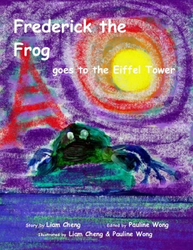 Frederick the Frog goes to the Eiffel Tower