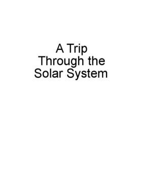 Solar System Travel Brochure
