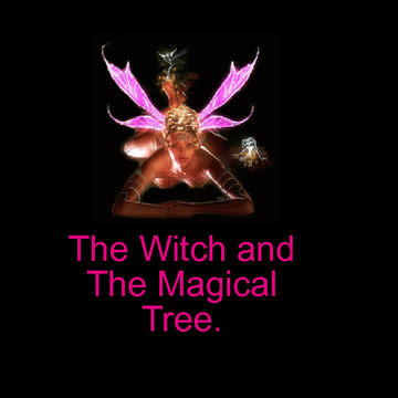 The Witch and the magical tree