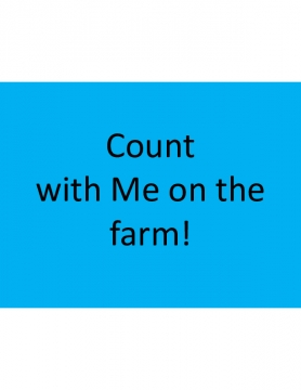 Count With Me on the Farm