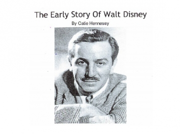 The Early Story of Walt Disney