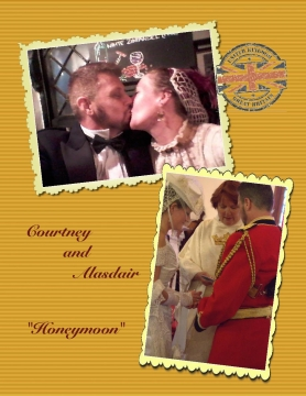 Courtney & Alasdair's Honeymoon