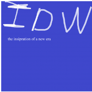 IDW THE INSIPRATION FO A NEW ERA